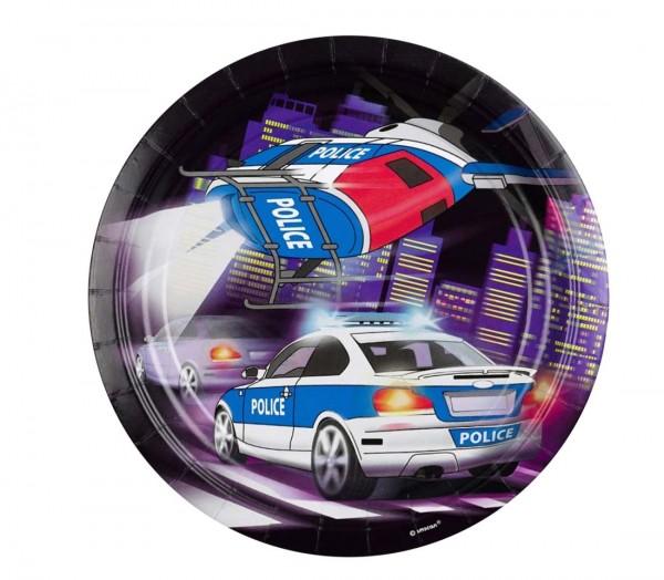 Spannende Teller für den Polizeigeburtstag