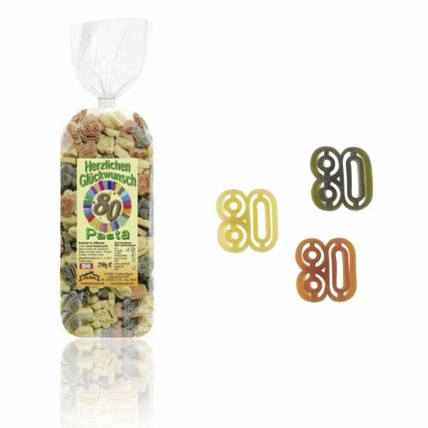 80. Geburtstag-Nudeln