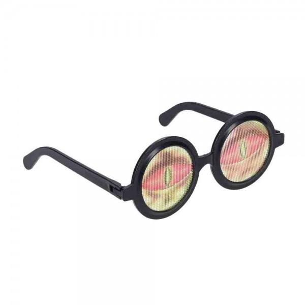 Brille Scherzaugen