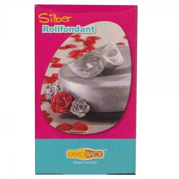 Rollfondant Silber