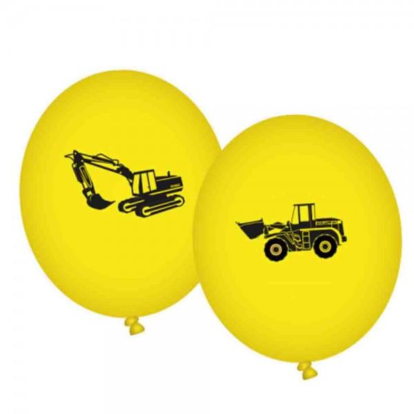 Achtung Baustelle-Ballons 8St.