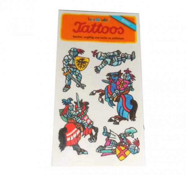 Ritterrüstung-Tattoo