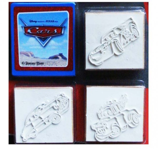 Cars-Stempel Set
