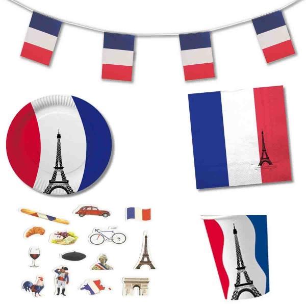 Partyset Frankreich