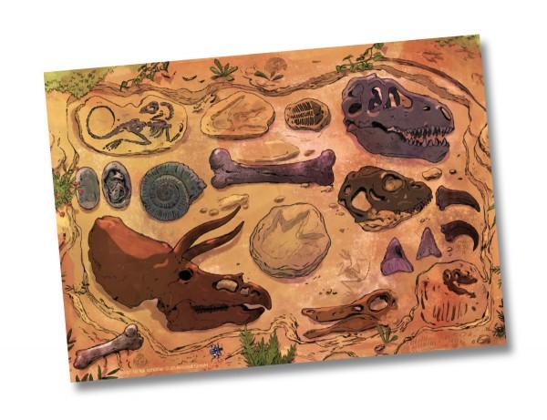 Dino-Kampf Tischsets
