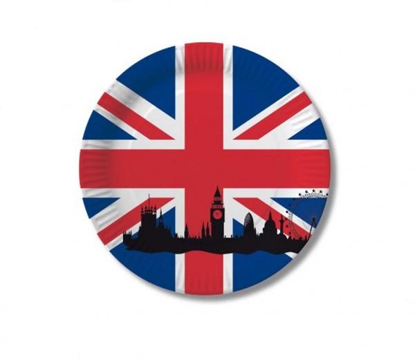 England-Teller 10 Stück