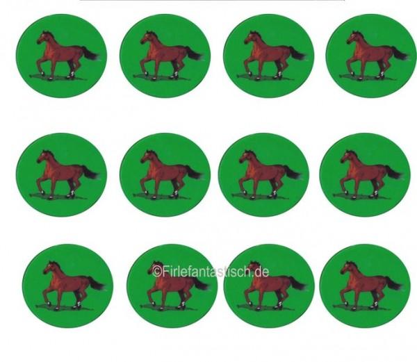 Muffinaufleger Pferd 12Stück
