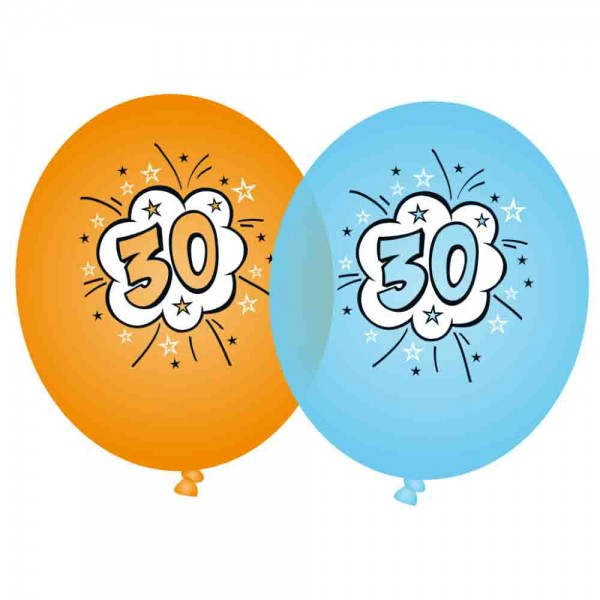 Ballons Supermann 30