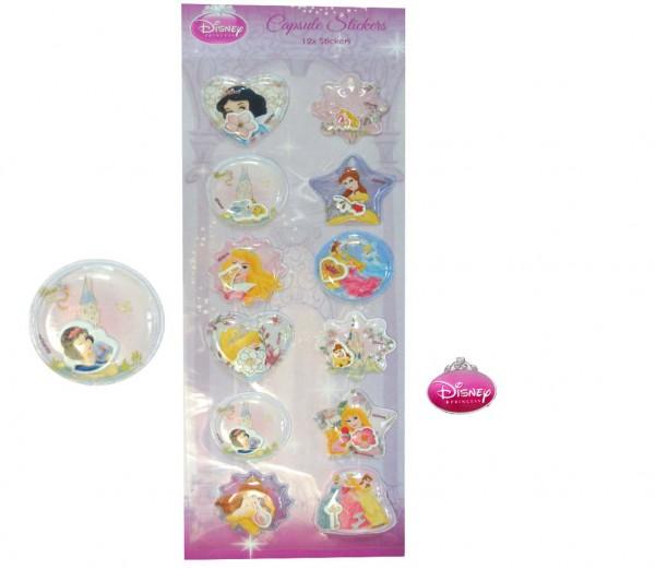 Prinzessin-3D-Sticker