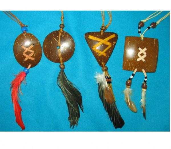 Indianer-Amulett-Kette