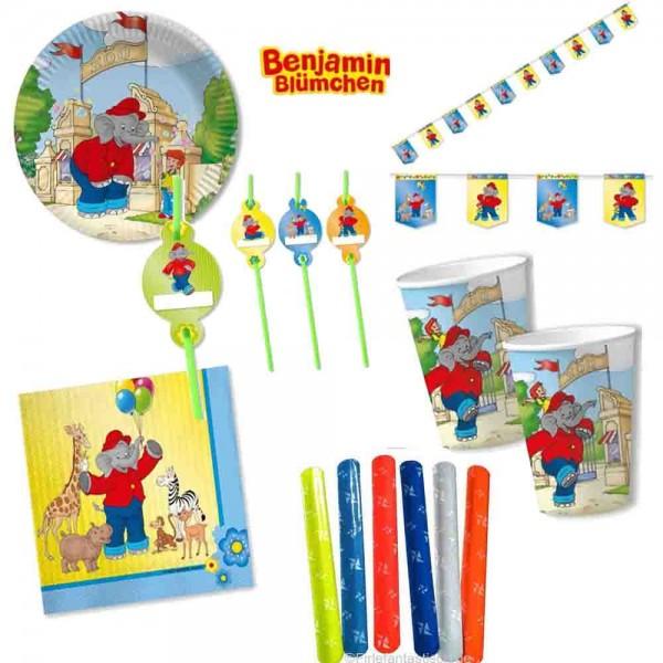 Benjamin Blümchen Partyset 61 Teile