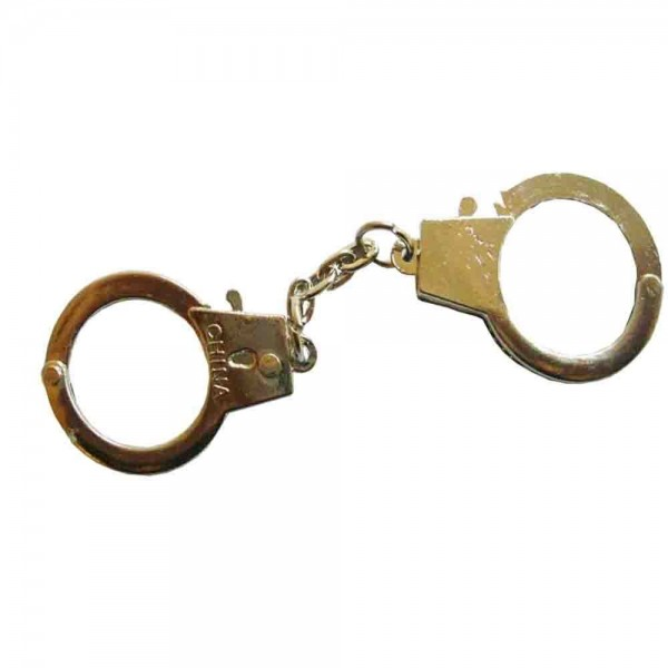 Mini-Handschellen als Schlüsselanhänger