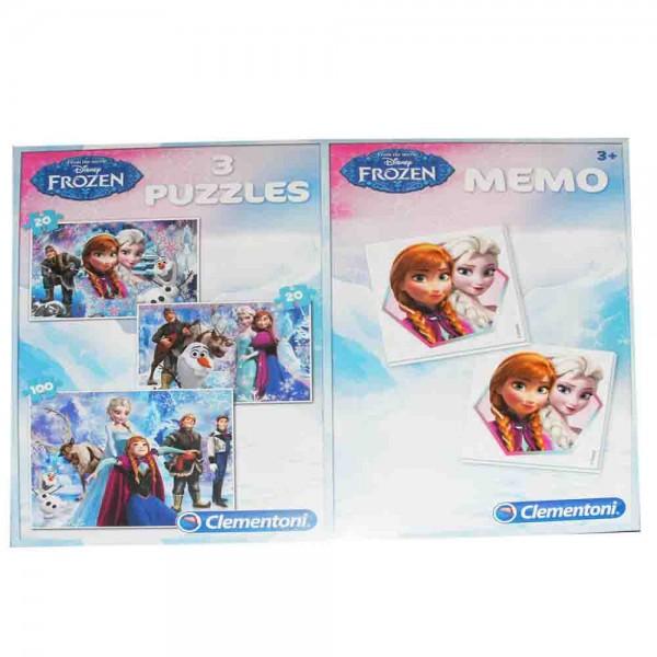 Frozen Puzzles und Memo