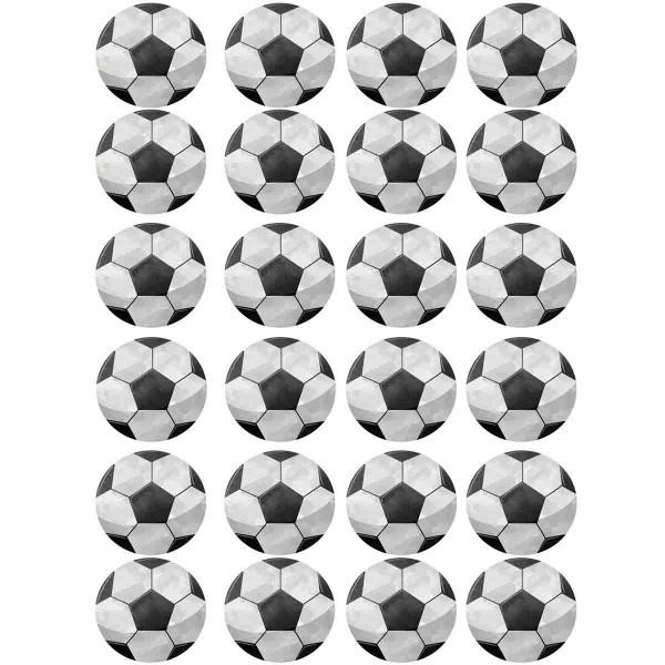 Muffinaufleger Fußball zum Selbstausschneiden