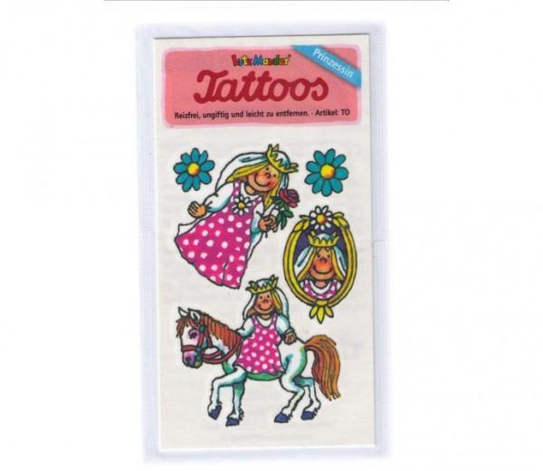 Prinzessin-Tattoo