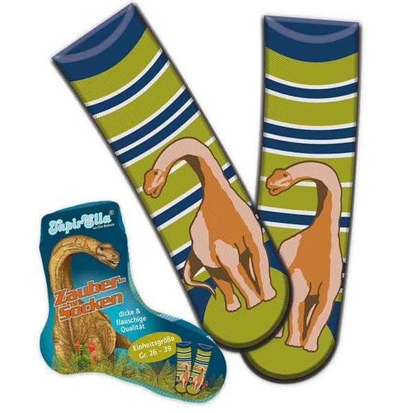 Flauschige Socken für Dinosaurier-Fans