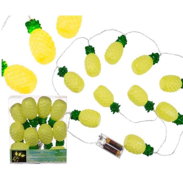 Lichterkette ,it Ananas