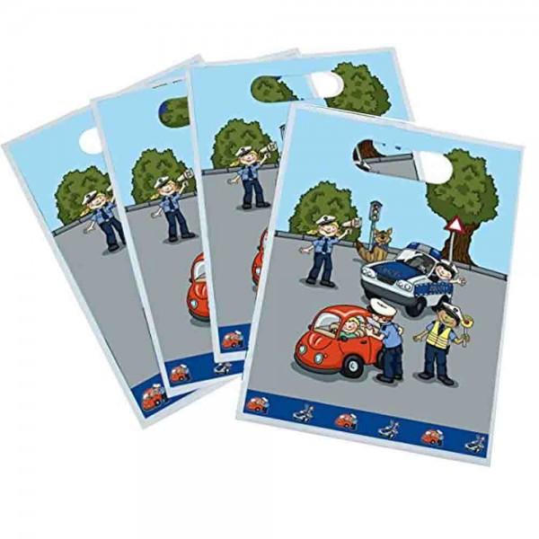 Polizei Geschenktüten für die kleinen Mitgebsel