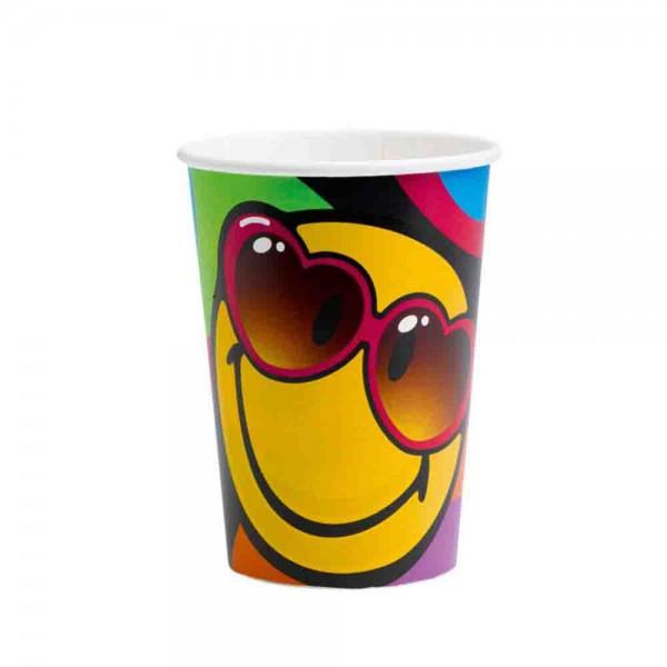 Smiley Becher