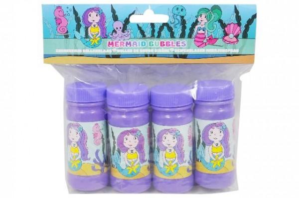 Meerjungfrau-Seifenblasen 4 Stück