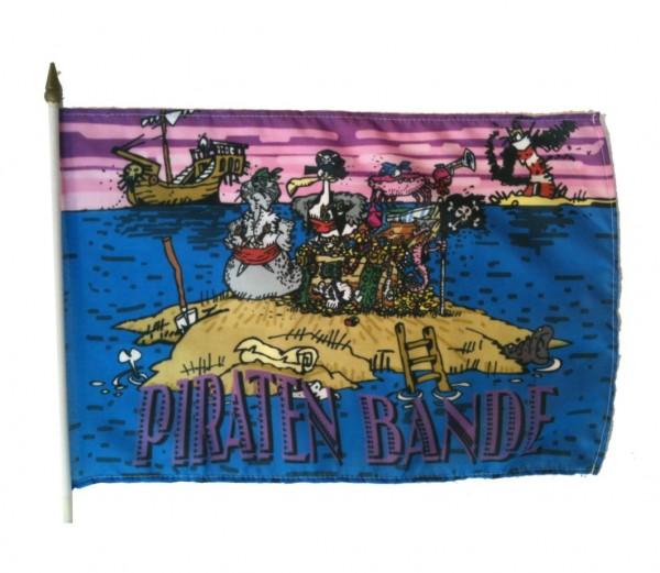 Fahne Piraten-Bande