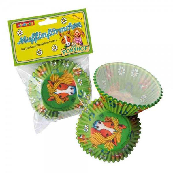 Wildpferdchen-Muffinförmchen