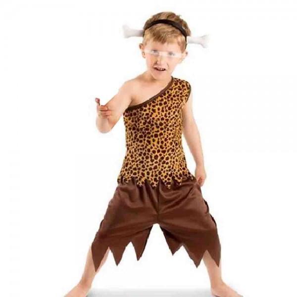 Steinzeit-Kostüm 3tlg