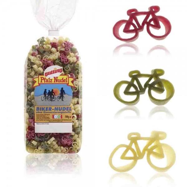 500 g Fahrrad Nudeln für die Bike Party
