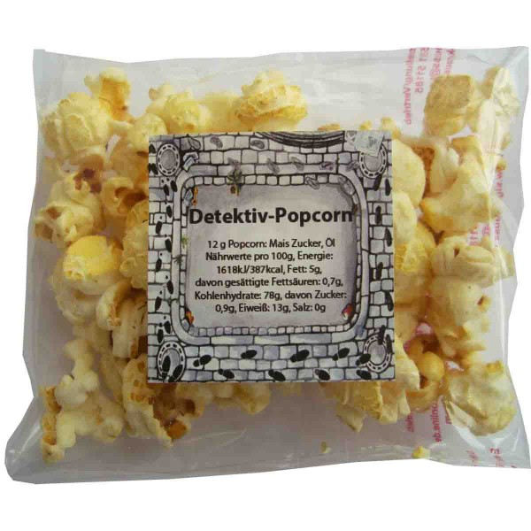 Leckeres Weltraum Popcorn