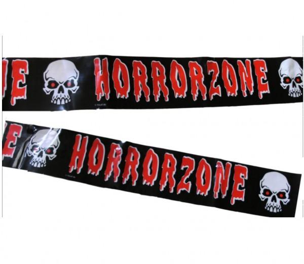 Absperrband-Horrorzone