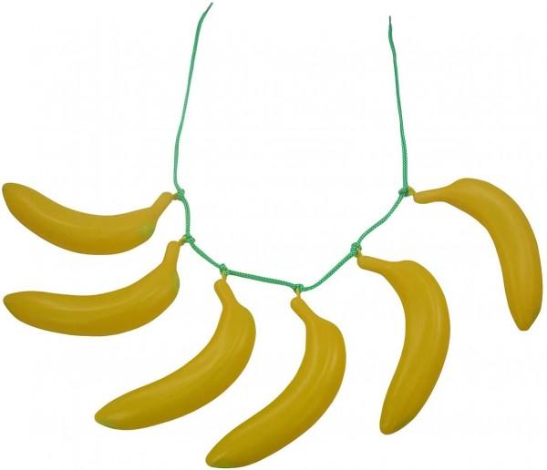 Gürtel aus Bananen / Bananen-Girlande