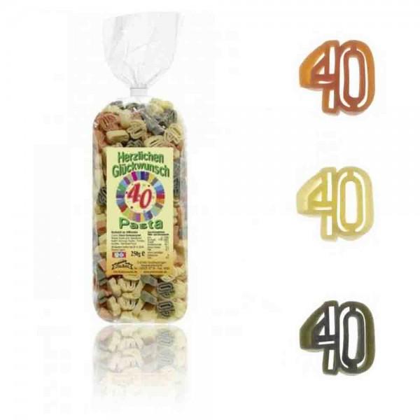40. Geburtstag-Nudeln