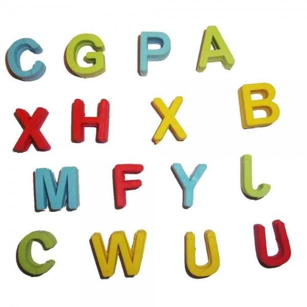 Radiergummi Lernspaß Buchstaben