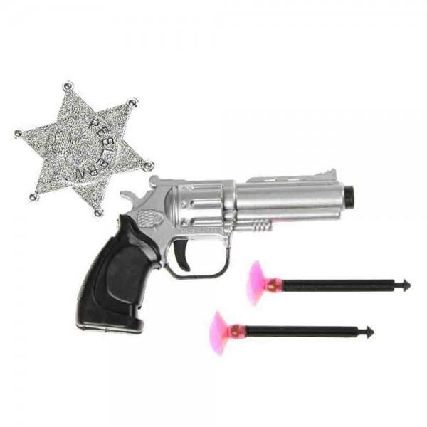 Pistole & Pfeile+Sheriffstern