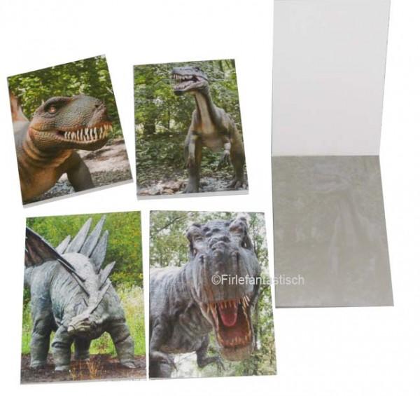 Dinosaurier-Notizbuch