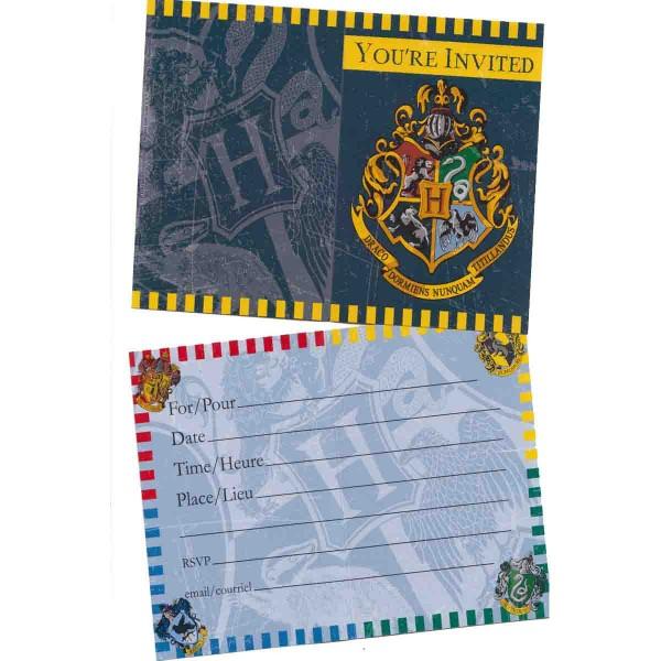 Einladungen für die Harry Potter Party