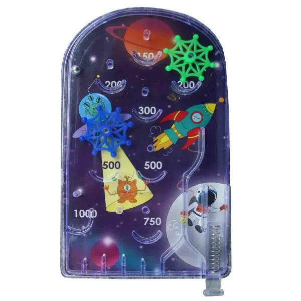 Weltraum Flipperspiel - Mitgensel für die Weltraumparty