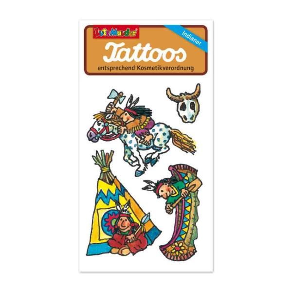 Indianer-Tattoo