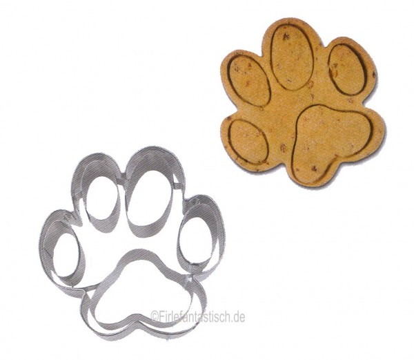 Keksausstecher Hundepfote