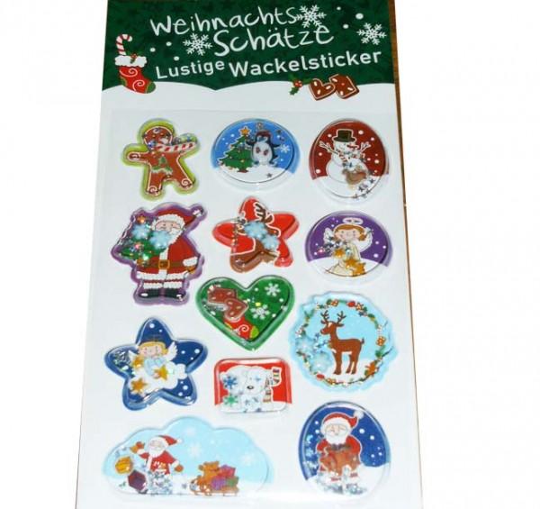 Sticker Weihnachtsschätze
