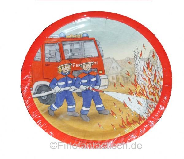 Feuerwehr-Teller