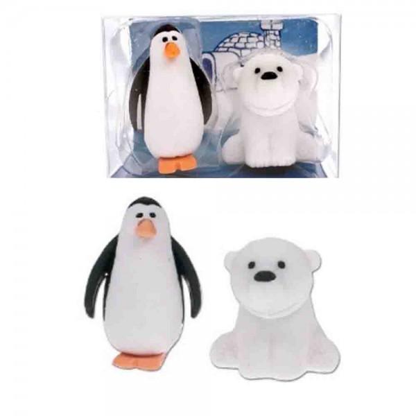 Radiergummi Polartiere