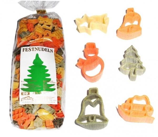 Weihnachts-Nudeln