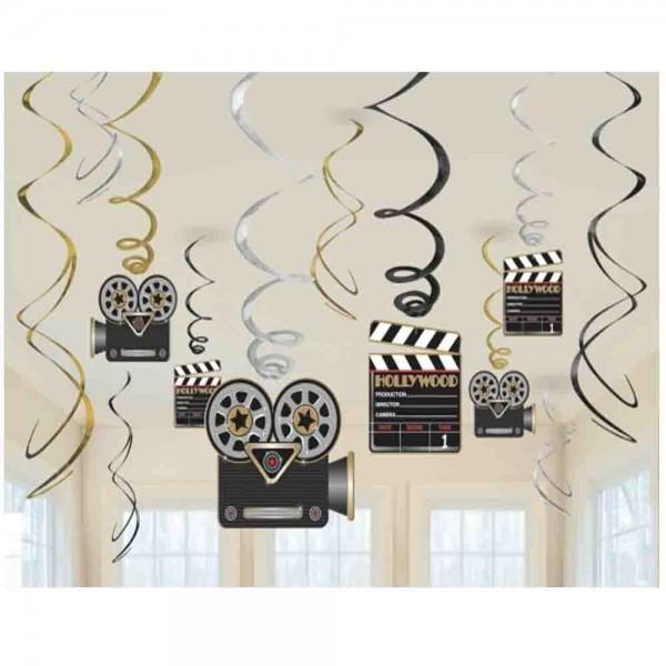 Hollywood Deckenspiralen