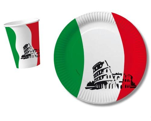 Italien-Teller 10 Stück