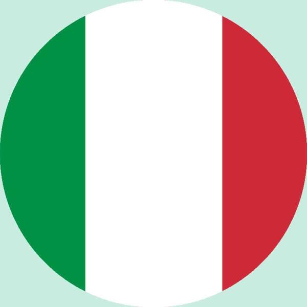 Essbarer Aufleger für die ItalienParty