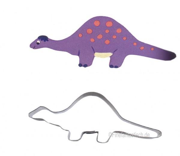 Keksausstecher Dino Brontosaurus