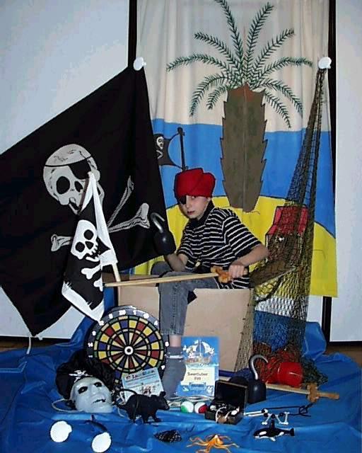 Piraten - Kindergeburtstag Piraten Partyzubehör Piratenparty