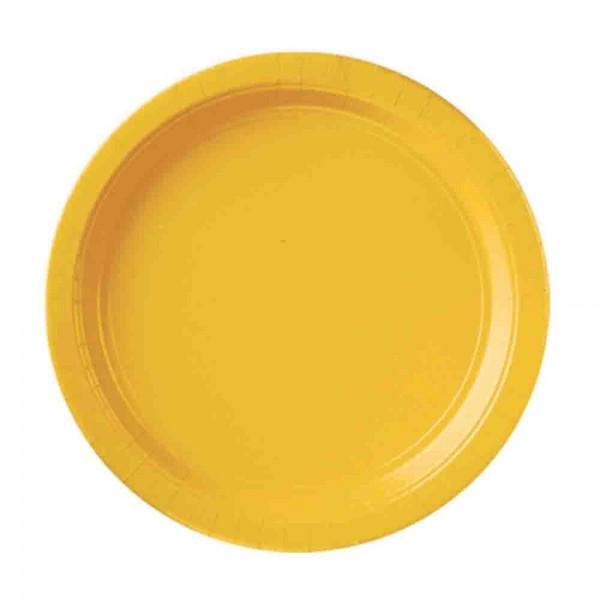 Gelbe-Teller