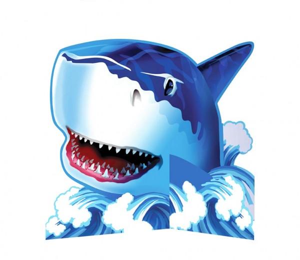 Tischdeko Haifisch